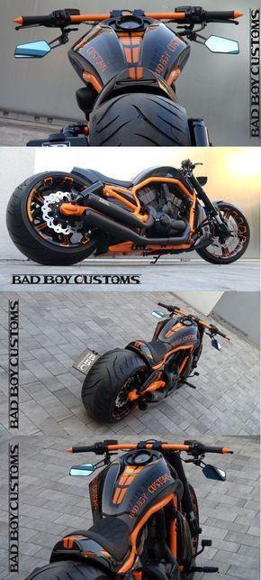 H D V Rod Custom Bike Carbon 5 By Bad Boy Customs Motorcycle Riding Gear Harley Davidson V Rod Custom Bikes Awesome