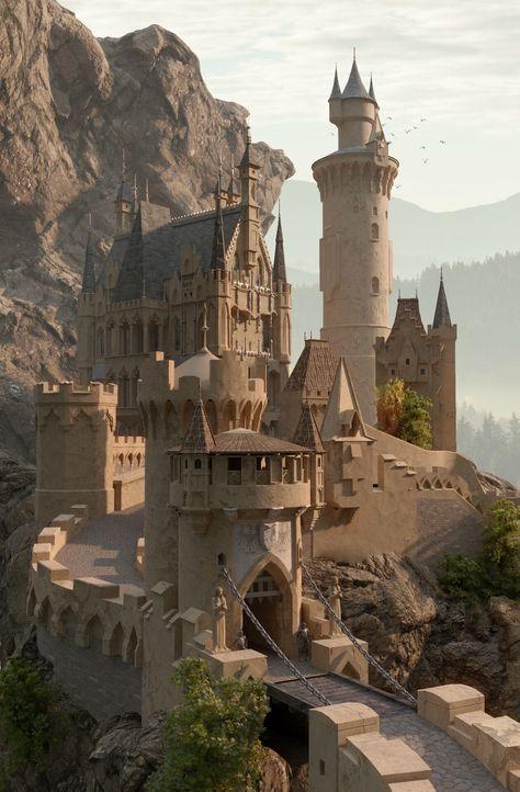 ArtStation - Castle, Vladimír Stáňa