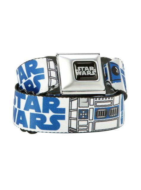 R2 D2 Star Wars Belt Buckle s in 3D with Free Leather Belt