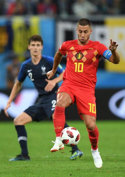 Eden Hazard Photos Photos Belgium Vs France Semi Final 2018 Fifa World Cup Russia Eden Hazard France Fifa France National Football Team