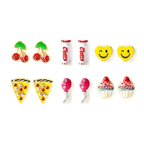 >>>Pandora Jewelry OFF! >>>Visit>> Katy Perry Katys Favorites Stud Earrings Set of 6 Fashion trends Fashion designers Casual Outfits Street Styles