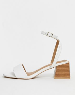 ASOS DESIGN Honeywell block heeled