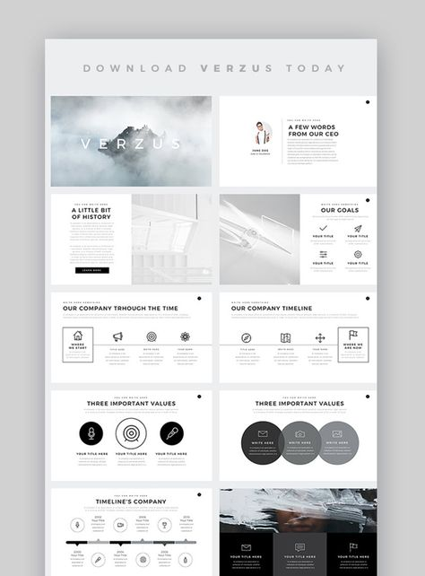 Pin By Prince Of Songkhla University On Corporate Free Powerpoint Template Powerpoint Presentation Design Powerpoint Slide Designs Presentation Design Layout