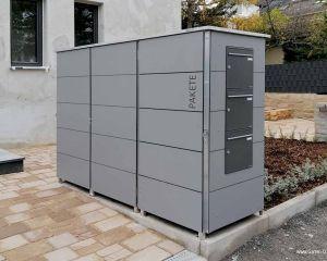Mulltonnenbox Mullbox Aus Metall Oder Edelstahl Garten Q Gmbh In 2020 Mulltonnenbox Briefkastenanlage Mulltonnenhaus