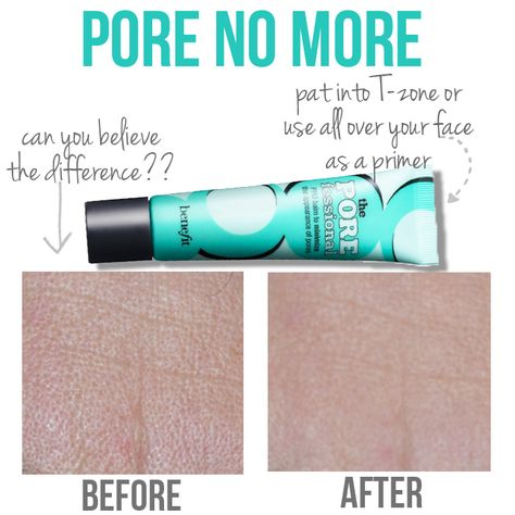 No more big pores!  This is my favorite face makeup product!! It is the perfect product for my pores!