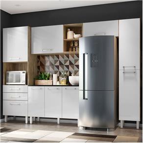 Cozinha Compacta 5 Pecas Lara Carvalho Cartagena Branco