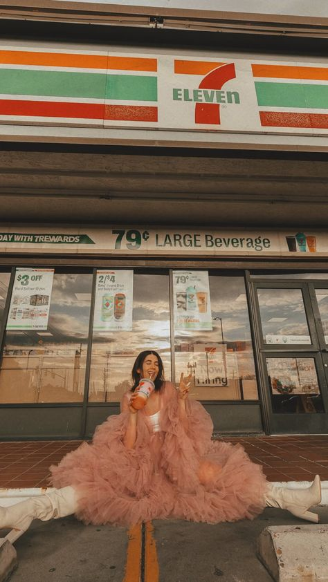 7 Eleven Aesthetic for a Creative Photoshoot
