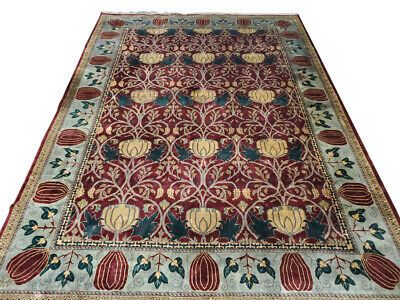 Gorgeous Large Hand Knotted Rug Plush 10ft X 14ft Pa5505aa In 2020 Rugs Hand Knotted Rugs Rug Stain