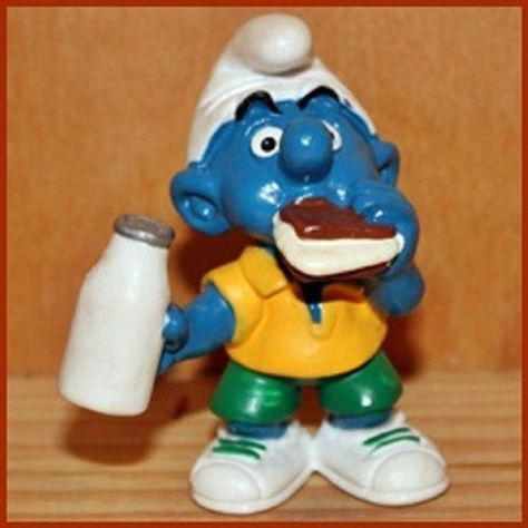 20184 smurf smurf puffi pitufo bullfighter puffo puffi schlumpf tbe extremely rare