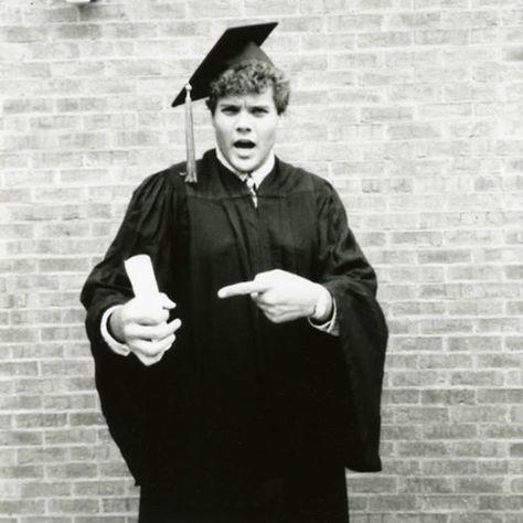 Throw Back! Jimmy John  Graduated last in my class!
