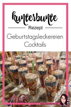 Photo of Geburtstagsleckereien Cocktails für den Kindergeburtstag – Chaoshoch4