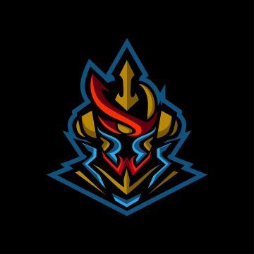 Blue Samurai Esports Logo Gaming Mascot Logo Symbol Japan