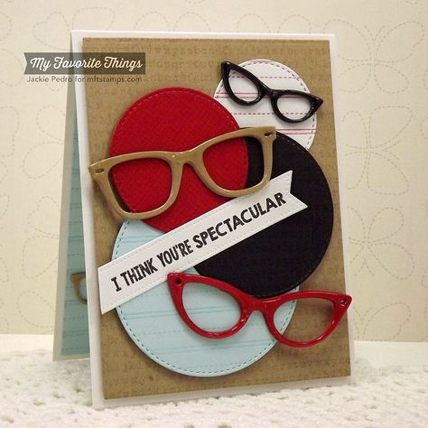 Cheesecloth Background, Geek Is Chic, Typewriter Text Background, Writing Tablet Background, Geek Is Chic Glasses Die-namics, Pierced Fishtail Flags STAX Die-namics, Stitched Circe STAX Die-namics - Jackie Pedro #mftstamps