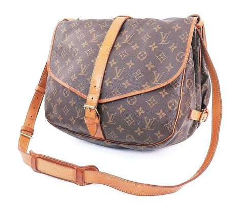 9c85383ffa9f Louis Vuitton Monogram Saumur 35 shoulder bag  cross body bag en ...