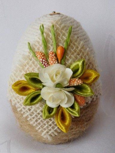 Pisanka Do Koszyczka Ozdoby Wielkanoc Rekodzielo 7785213356 Oficjalne Archiwum Allegro Easter Egg Decorating Easter Diy Easter Crafts