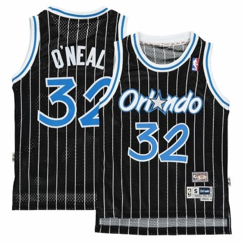 0a6a0154001 ... orlando magic youth shaquille oneal nba soul swingman jersey black 32  size youth large