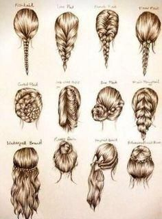 Different Kinds Of Braiding Hair New Hair Styles Ideas Braidedhairstylesart Braided Hairstyles Easy Medium Hair Styles Long Hair Styles
