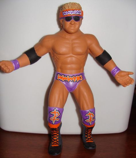 Custom REPLICA WWF WWE LJN HACKSAW JIM DUGGAN 2X4  ACCESSORY