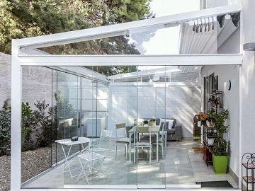 Sistema Corredero De Cortina De Cristal Mejor Precio Garantizado Cerramientos Terrazas Cortinas Cristales