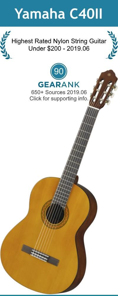 Pin On Nylon String Classical Guitars