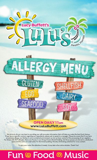 Pin By Allison Golden On Road Trips Menu Allergies Food