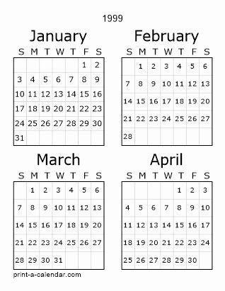 Printable Calendar 1999 In 2020 Calendar Printables Calendar March 2017 Printable Calendar