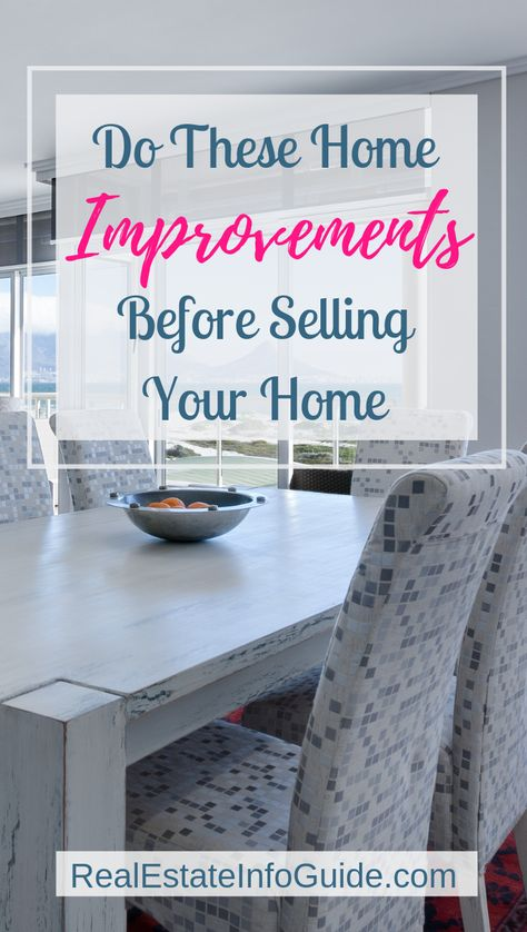 Indoor Home Improvements To Sell Your Home Fast!