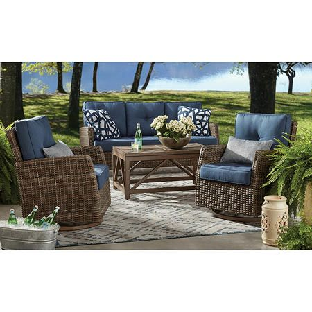 Pin On Patio Porch, Patio Sets With Sunbrella Cushions