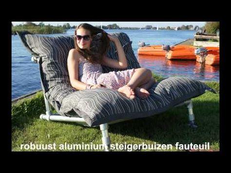 Sit Joy Zitzak.Trendy Zitzak Fauteuil Of Stoel Van Steigerbuis Ook Voor Zitzakken