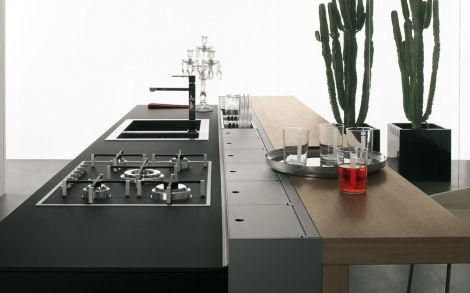 Schön Innovazioni Canale Attrezzato Valcucine   Equipped Back Section : All  Hiding In Sleek Containers Like Section | Valcucine Luxury Kitchens |  Pinterest