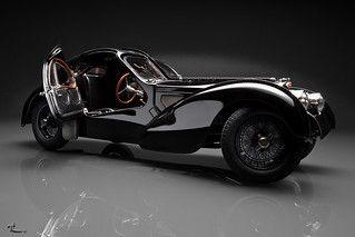 Bugatti Type 57 Sc Atlantic Coupe Restored Bugatti Type 57 Bugatti Black Bugatti