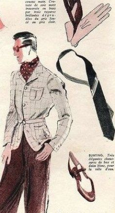 1939 Summer Fashion Accessories For Men Vintage Mens Wear Fashion Clothes Late 1930s Early 4 In 2020 Mens Fashion Illustration Mens Fashion Summer Mens Fashion