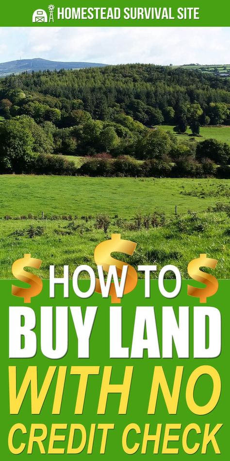 How To Buy Land With No Credit Check - Homestead Survival Site