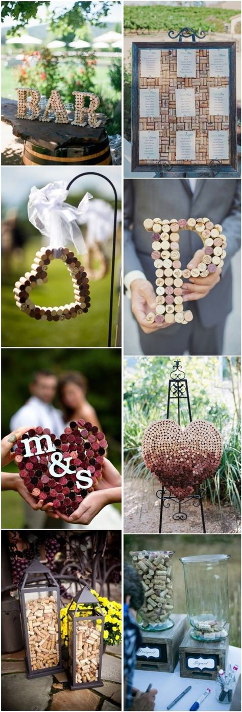 30 Wine Corks Country Wedding Ideas (with Tutrials)