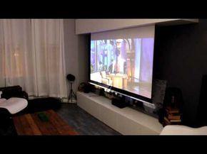 Hidden Projector Screen Youtube Projector Screen Best