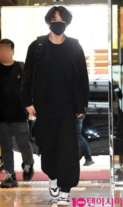 BTS jungkook aéroport vêtements-Korea Traditional hanbok-Bangtan sonyeondan