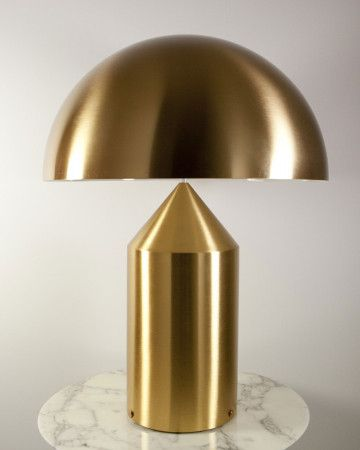 Atollo 233 238 239 Or Table Lamp Golden Table Lamps Gold Table Lamp Modern Table Lamp