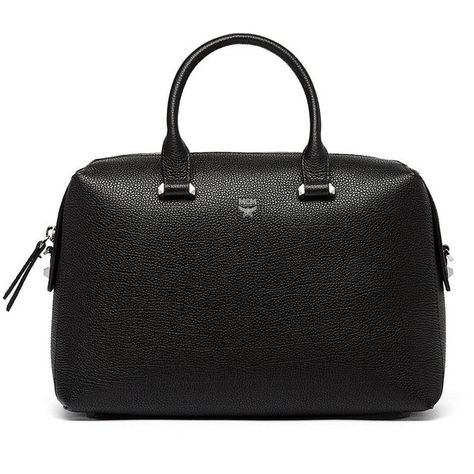 15e9aa4af390b7 MCM Women s Ella Boston Leather Bowler Bag (14