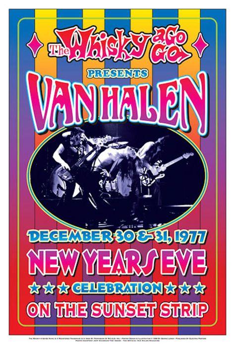 Van Halen New Years Eve at the Whisky A-Go-Go