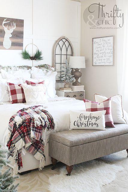 Christmas Bedroom Decor Tour 2018 Christmas Decorations Bedroom Christmas Room Decor Christmas Decorations Living Room