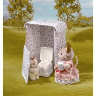 Buy Sylvanian Families Toilet Tent. Iu0027m a little old fashioned... canu0027t help but think this is a seriously odd present for a child. & Buy Sylvanian Families Toilet Tent. Iu0027m a little old fashioned ...