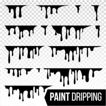 Paint Dripping Liquid Vector Current Inks Splatter Background Isolated Illustration Art Backdrop Background Png And Vector With Transparent Background For F Drip Painting Ink Splatter Paint Vector