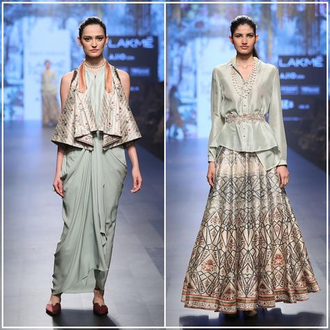 Tarun Tahiliani - Spring Summer 2017 - Chashme Shahi at Lakme Fashion Week.