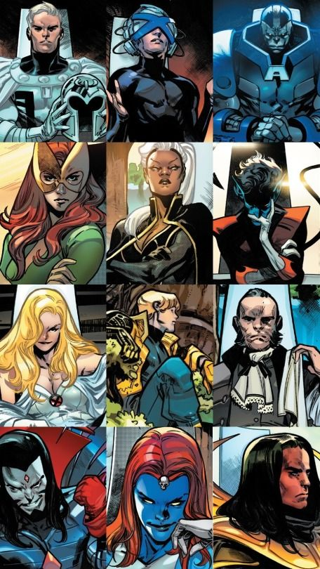 Quiet Council Of Krakoa In 2020 Xmen Comics Comic Art Fans Marvel Character Design