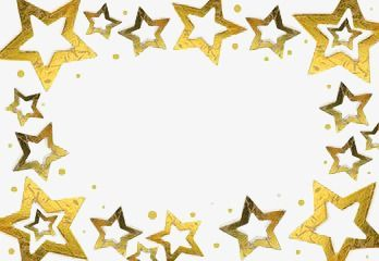 Yellow Stars Border Png And Clipart Christmas Border Border Design Clip Art Borders