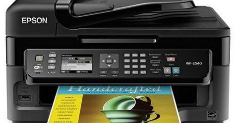 Epson Printer drivers WF-2540 driver download for Windows XP/ Vista