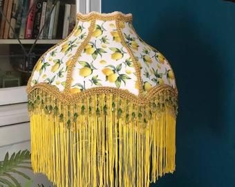 Victorian Lamp Shades Funky Shades Quirky By Pantallalampshades In 2020 Victorian Lampshades Victorian Lamps Unique Items Products