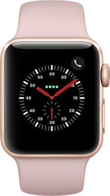 Apple Watch Series 3 38mm Aliuminum Case Gold Pink Sport Band