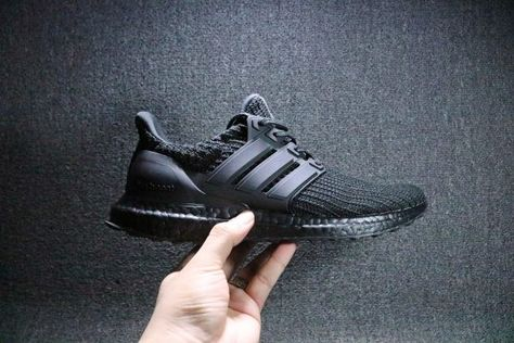 Adidas Ultra Boost 4 0 Triple Black For Sale Free Shipping