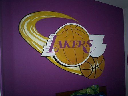 My Sonu0027s Friend LOVES His New Lakers Room!